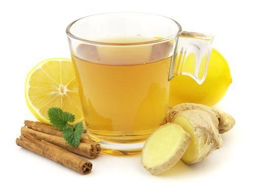 черный чай с имбирем для похудения